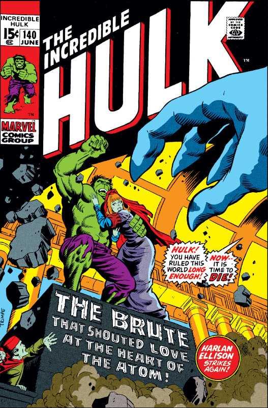 Classic Herb Trimpe cover Incredible Hulk #140