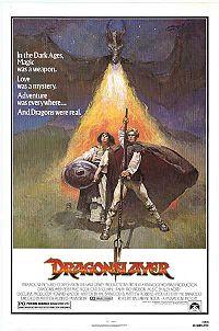 1981 Original Dragonslayer one sheet.
