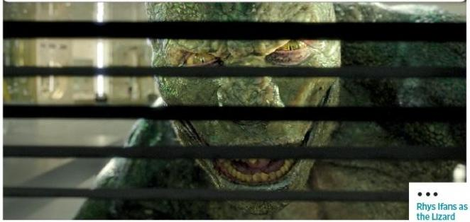It's Voldemo-- nope, it's Lizard! ...Ten points to Slytherin!