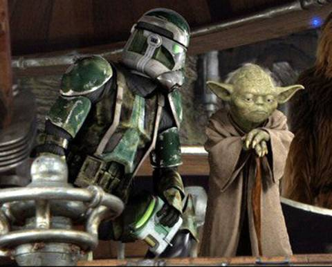 Yoda moments before the order was issued.