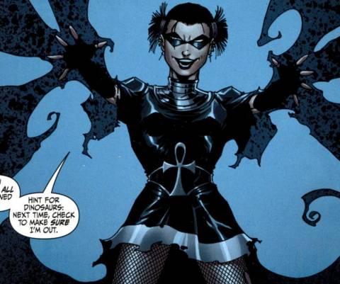 Black Alice Using Nightshades Powers