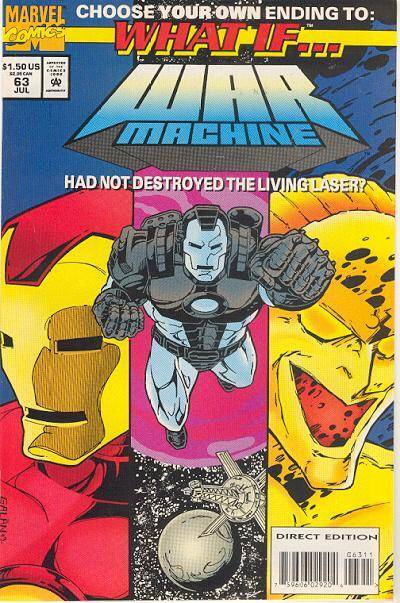 What If...? #63 - What If War Machine had NOT destroyed the Living Laser? (Issue)