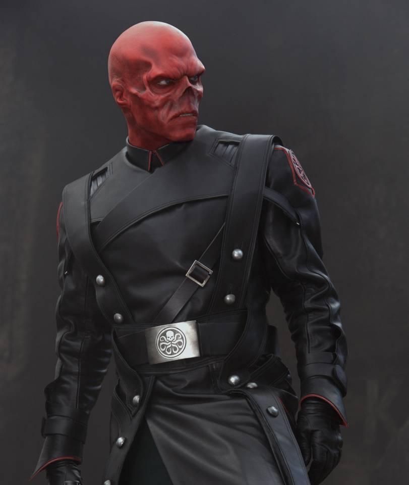 Hugo Weaving as the Red Skull