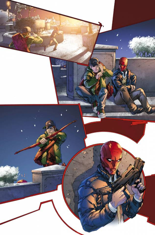Exclusive page from Red Hood and the Outlaws #4