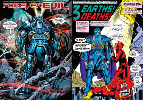 FOREVER EVIL #7 and CRISIS ON INFINITE EARTHS #6