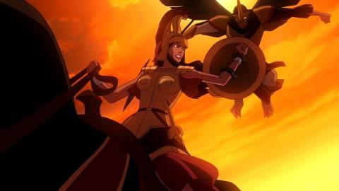 Hippolyta Voice - Wonder Woman franchise   Behind The