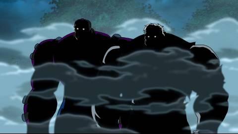 Mongul & Solomon Grundy in Public Enemies