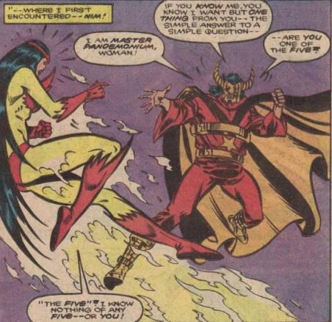 Pandemonium believes Firebird is one of the Five.