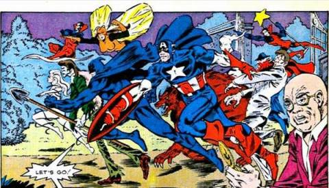 The Night Shift team up with Captain America.