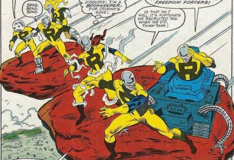 The mutant group known as the Resistants.