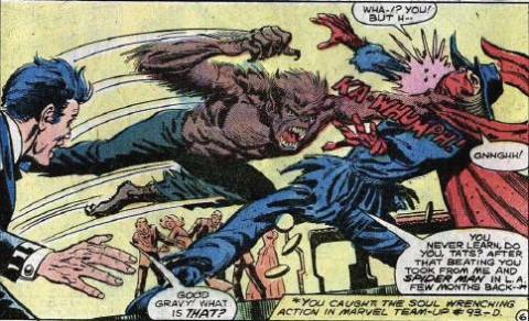 Werewolf by Night vs Tatterdemalion.