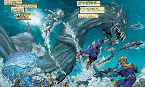 Bloodtide with the Fathom Five.