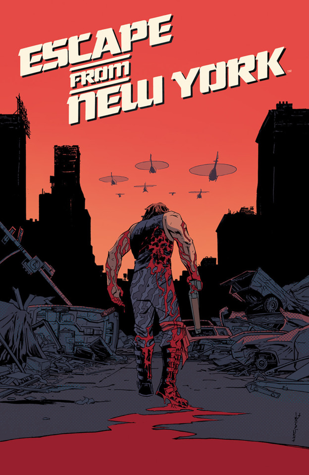 Escape from New York #1 Main Cover A by Declan Shalvey