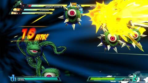 Shuma-Gorath performs Hyper Mystic Smash on one unlucky adversary.