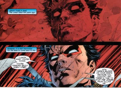 Jason Todd: Back from the Dead.