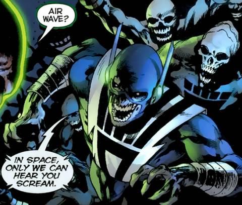 Back as a Black Lantern