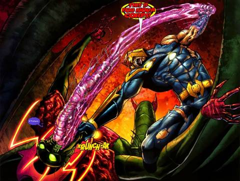 Nova's Showdown with Annihilus.