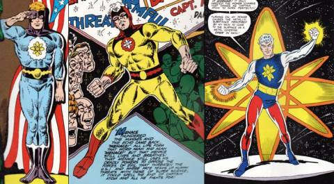 Captain Atom - Costumes