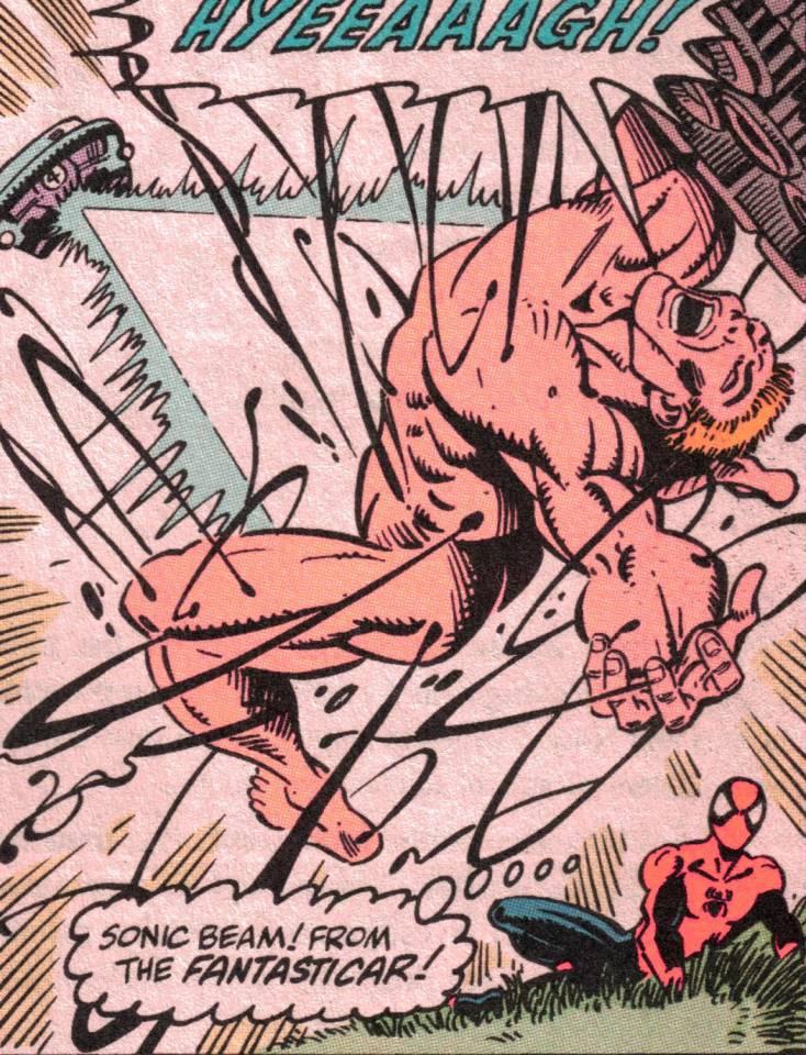 The Venom symbiote unraveled by extreme sound, leaving Eddie Brock naked