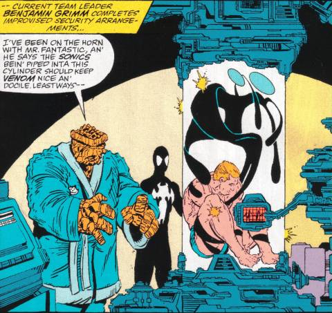 Venom defeated; Eddie and the alien contained