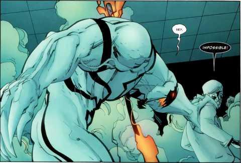 Anti-Venom...Mister Negative...my friend, my foe