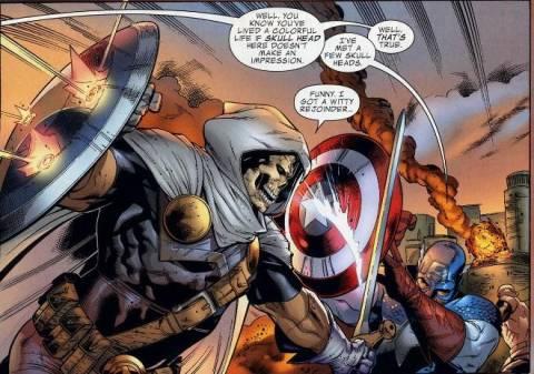 Taskmaster at the Siege on Asgard