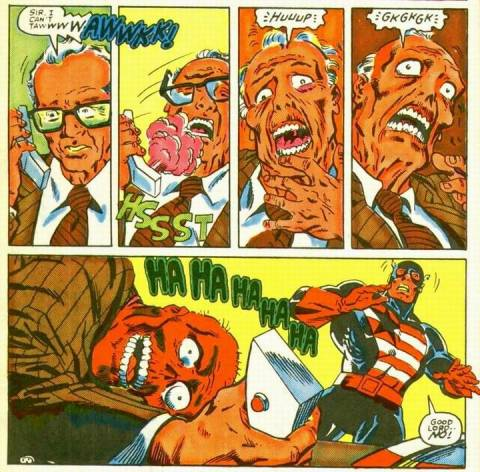 The Dust of Death became the Red Skull's trademark after learning it's horrific effects.