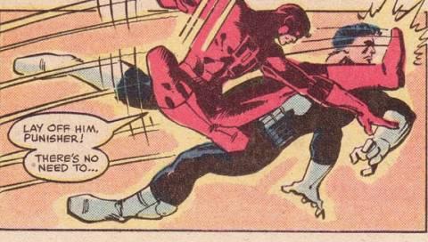 Daredevil vs. Punisher.