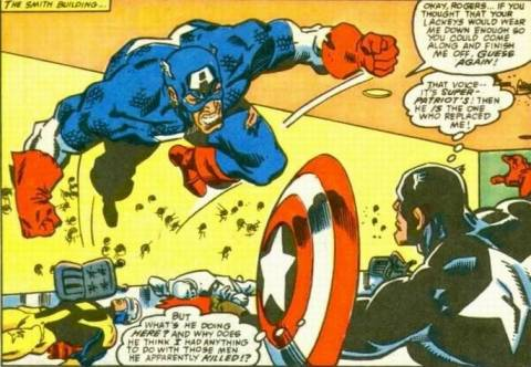 As Mr Smith, Red Skull would successfully ruin Captain America's name when he had the CSA replace Steve Rogers with John Walker.