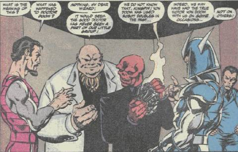 Red Skull would even be seen as a worse kind of evil among Marvels most dangerous villains.