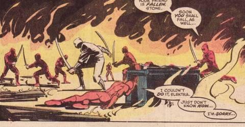 Murdock purifies Elektra.