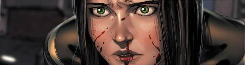 X-23 infected with the new strain