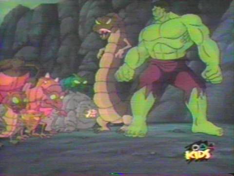 The Outcasts in the Incredible Hulk 1996 animated series