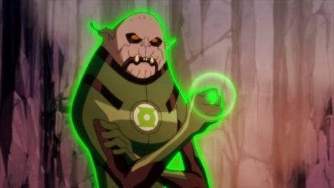 Ermey was renamed Deegan in Green Lantern: Emerald Knights
