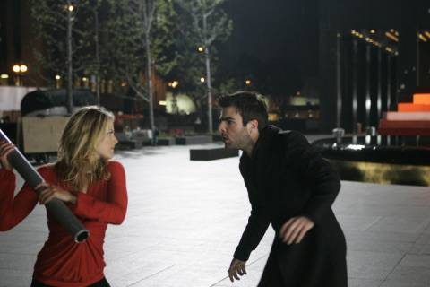 She can stop you, Sylar!