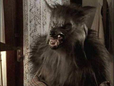Oz in werewolf form in