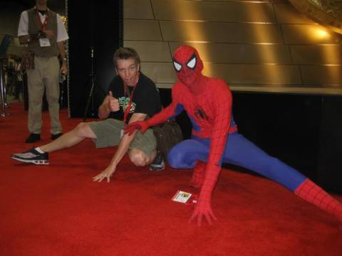 Ethan and Spidey
