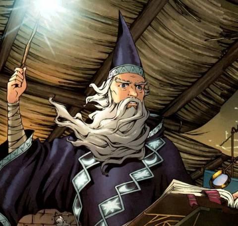 The Wizard Merlin
