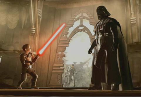 Vader Discover The Child Galen