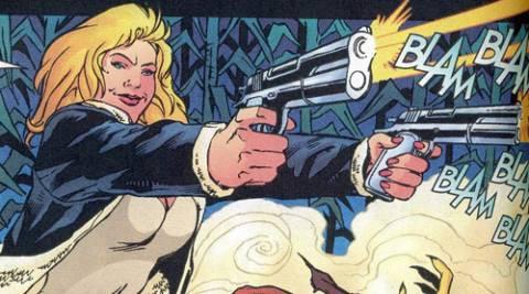 Zinda using guns