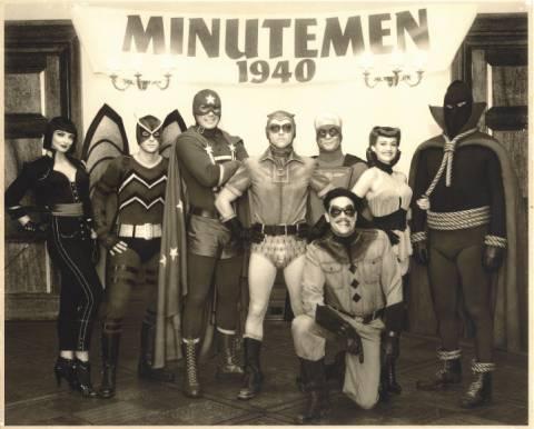 The Minutemen photo taken in 1940.