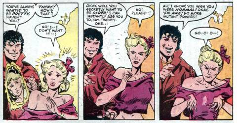 Beyonder tempts Boom Boom with other possibilities