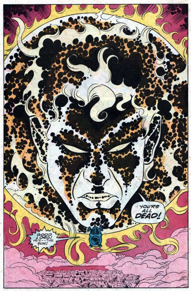 The Beyonder as the sun of his new universe