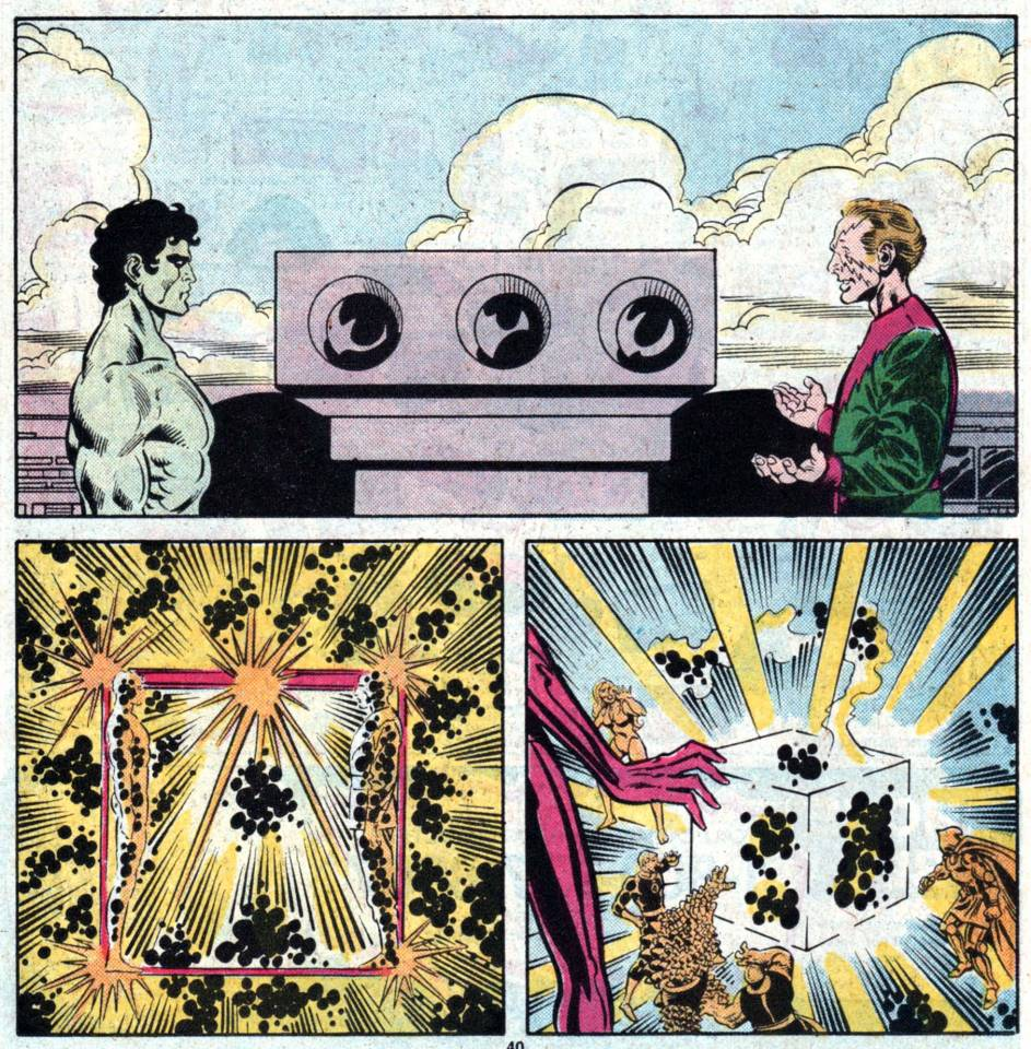 Beyonder and MM turn to Cosmic Cube