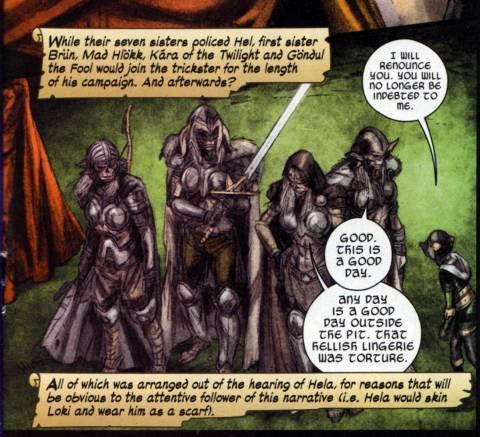 The main four with Loki