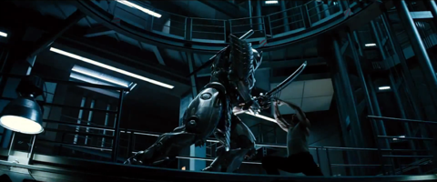 Silver Samurai in the movie
