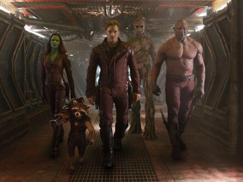 The Guardians in the film