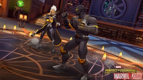 Black Panther in Contest of Champions