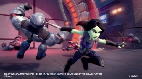 Gamora in Disney Infinity