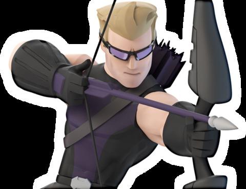 Hawkeye in Disney Infinity